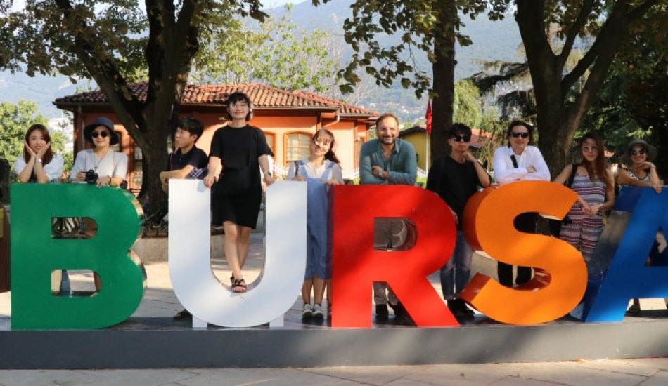 Güney Kore sosyal medya fenomenleri Bursa'da!