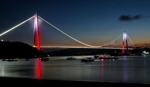 Yavuz Sultan Selim Köprüsü 3 yaşında