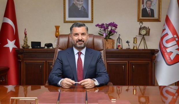 RTÜK Başkanı'ndan Bildirici'ye tepki: Varsa insafa davet ediyorum
