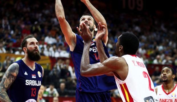 Sırbistan, Angola'yı ezdi geçti!
