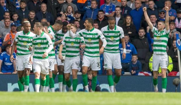 İskoçya derbisinde kazanan Celtic