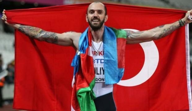 Ramil Guliyev Brüksel'de 2. oldu