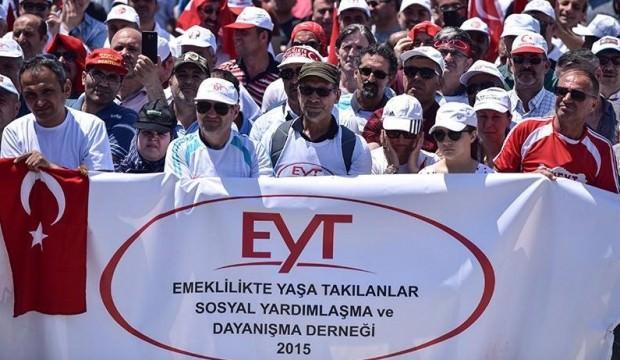 EYT'liler Ankara'da bir araya geldi.