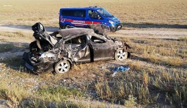 Nişan yolunda feci kaza: 3'ü çocuk 7 yaralı
