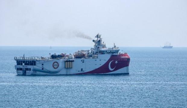 Oruç Reis, Antalya'dan ayrıldı