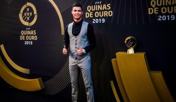 Portekiz'den yılın futbolcusu Ronaldo