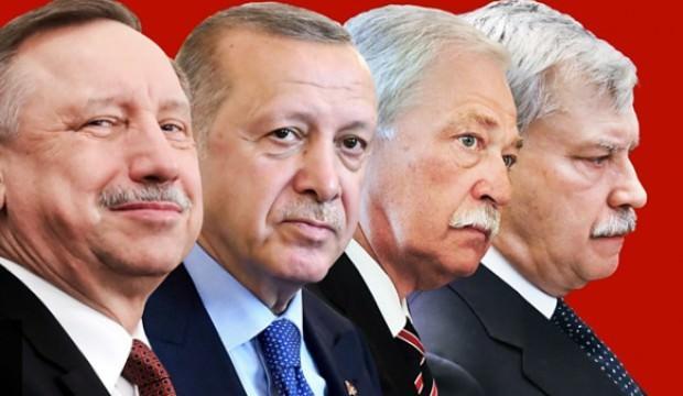 Rusya'da şaşırtan olay! St Petersburglular 'Erdoğan' dedi!