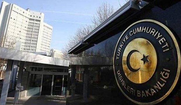 Türkiye'den Kolombiya açıklaması