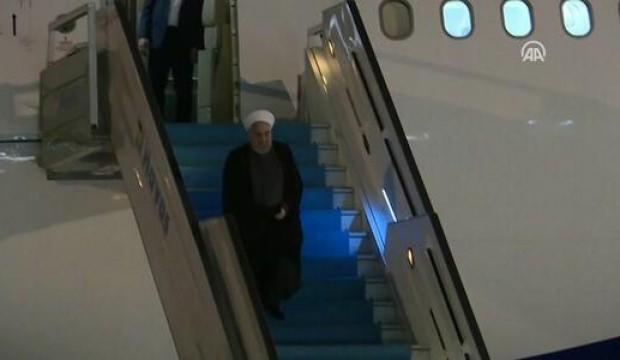 Hasan Ruhani Ankara'ya geldi!