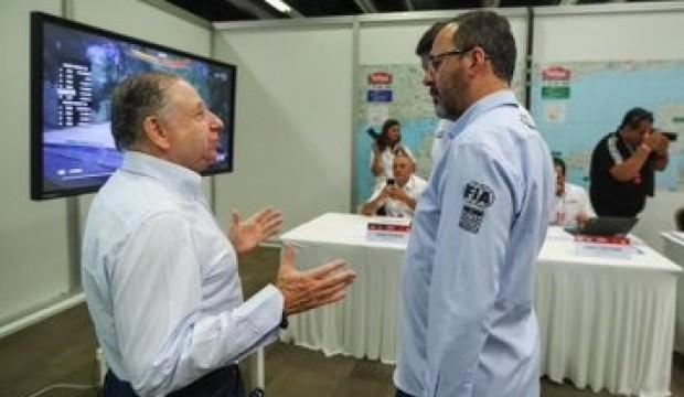 Bakan Kasapoğlu, FIA Başkanı Todt ile görüştü