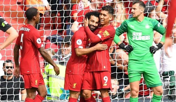 Liverpool 3 puanı 3 golle aldı