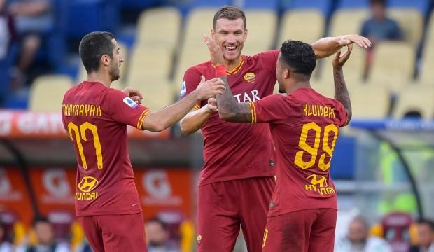 Roma'dan Başakşehir öncesi 4 gollü zafer!