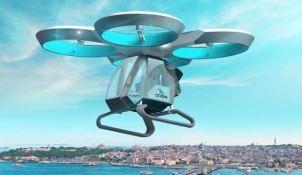 Bir ilk olacak: Drone insan taşıyacak
