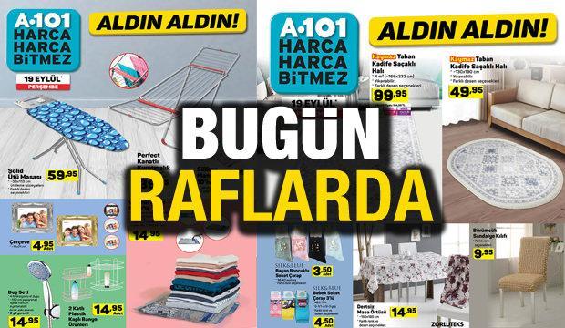 A101 aktüel kataloğu! 20 Eylül züccaciye ve ev tekstili ürünlerinde...