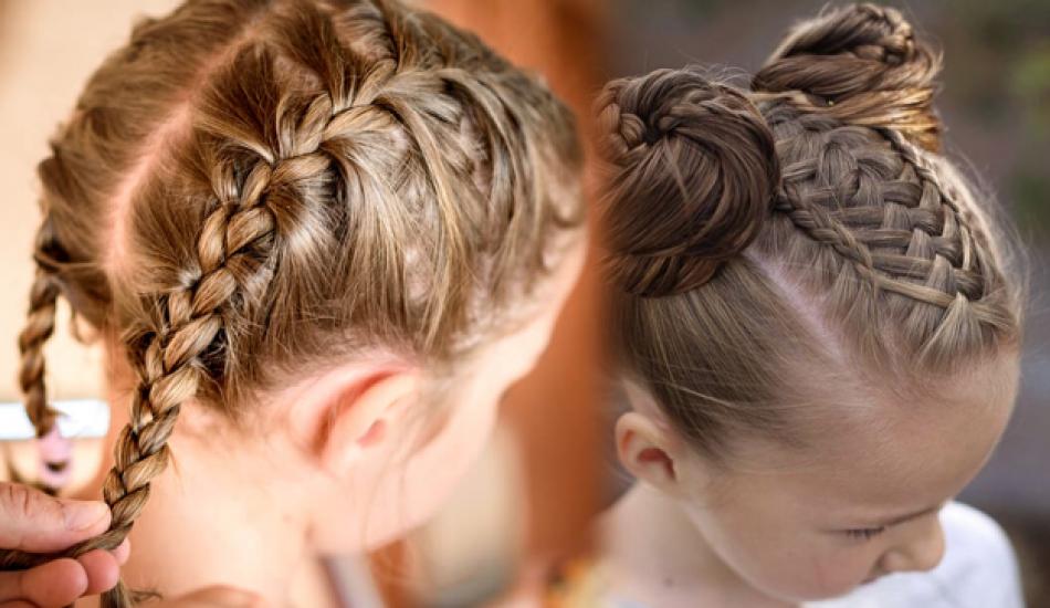 Örgü saç modelleri nasıl yapılır? Değişik ve kolay çocuk saç örgü modelleri ve yapılışı