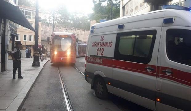 Eminönü'nde otelde yangın