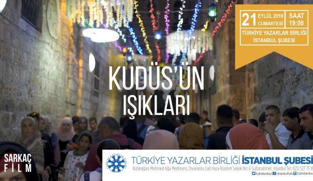 TYB dönem açılışını 'Kudüs'ün Işıkları'yla yapıyor