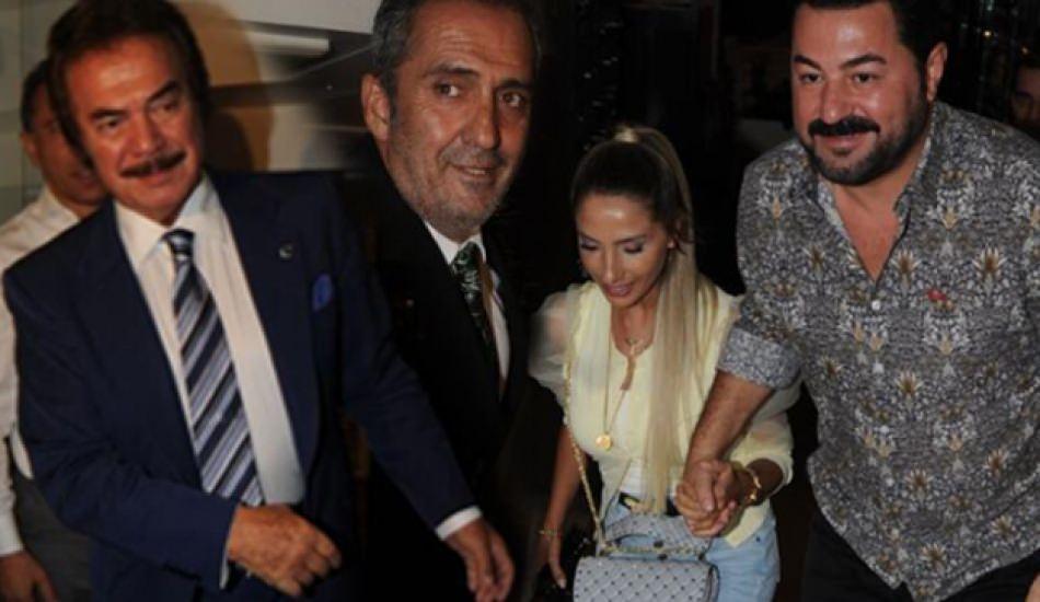 Şarkıcı Serkan Kaya'nın organizasyonuna ünlüler akın etti!