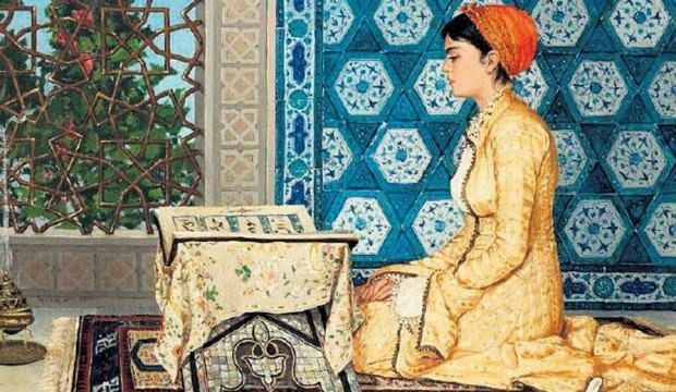 Kuran Okuyan Kız tablosu rekor fiyata satıldı