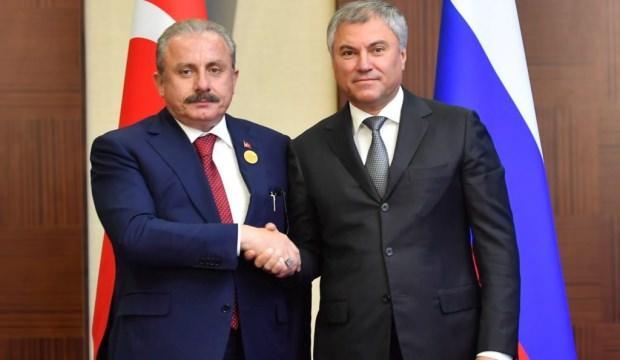 TBMM Başkanı Şentop: Rusya'dan elverişli koşullarla Su-57 alabiliriz