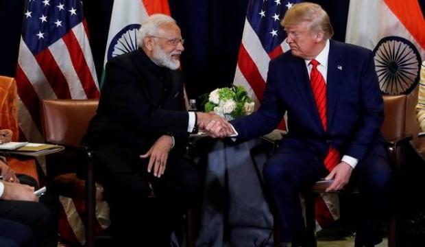 Trump'tan Modi'ye: Keşke birlikte çalışsanız, muhteşem olur!