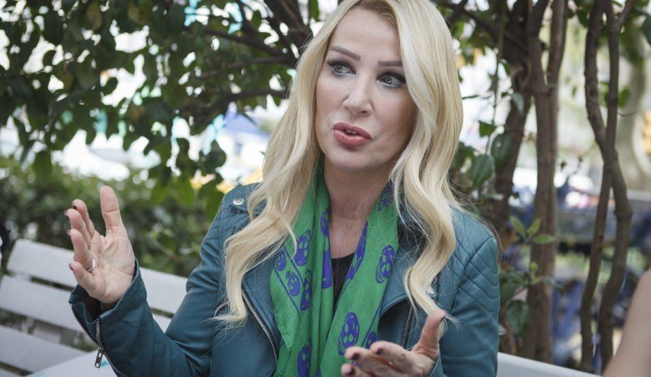 Seda Sayan Gaziantep sokaklarında şalvar ile dolaştı!
