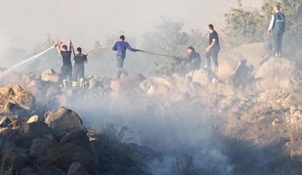 Aksaray'da 10 hektarlık ormanlık alan yandı