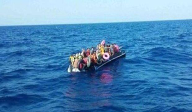 Ayvalık'ta 60 düzensiz göçmen yakalandı