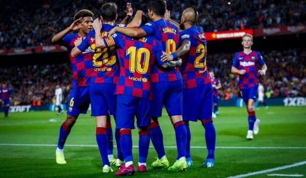 Barcelona Sevilla'yı darmadağın etti