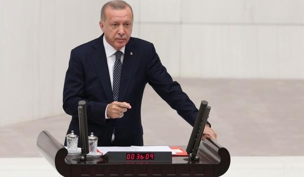 Erdoğan üstüne basa basa uyardı: Bu çatı altında yerleri yok!