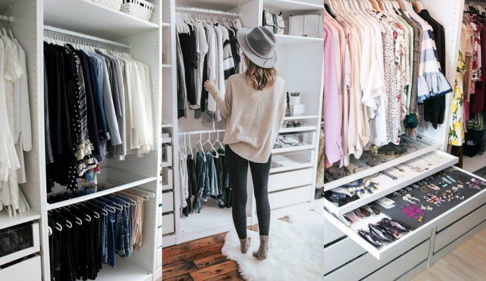 Giyinme odaları için dekorasyon önerileri