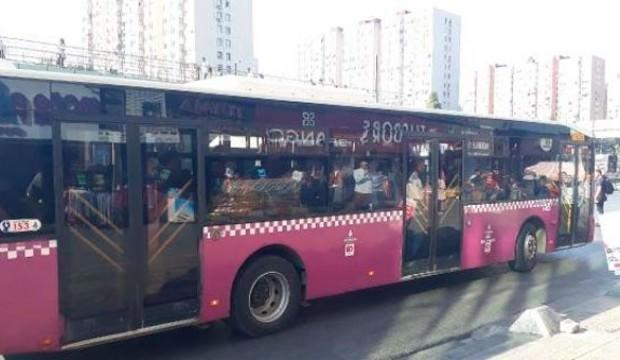 Kadın otobüste bir anda çığlık attı! Şoför kapıları kilitledi