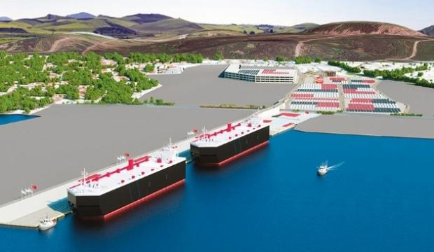 Türkiye'nin en büyük otomotiv limanı için ilk adım
