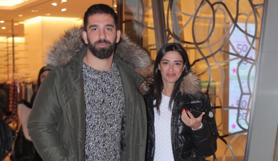 Aslıhan Doğan'dan eşi Arda Turan'a övgü!