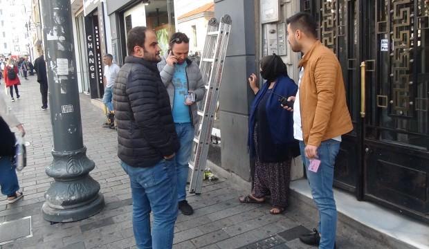 Dilenci kadının sokakta yaptığı şoke etti!
