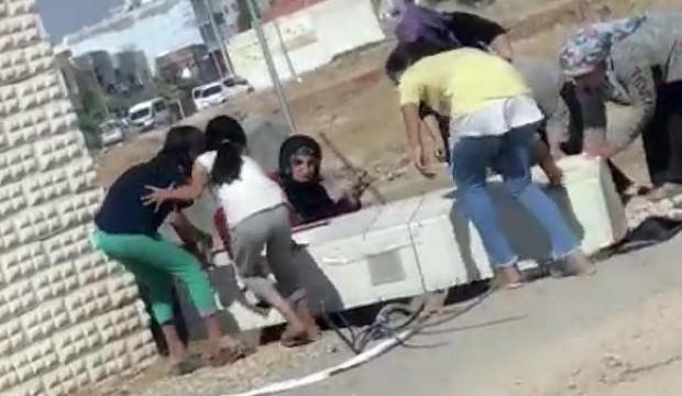 Kaçak elektriği önleyen panoyu söktüler