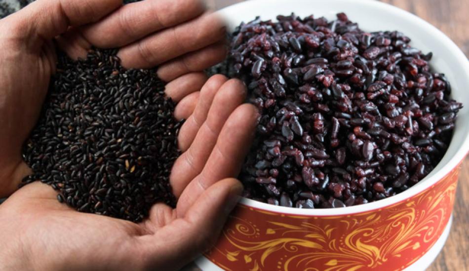 Siyah pirincin faydaları nelerdir? Uzmanlar yaşlandırmayı önleyen siyah pirinci öneriyor...