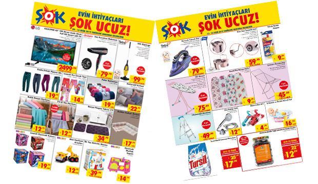 15 Ekim ŞOK aktüel kataloğu: ŞOK'da indirimli ürün kampanyası tükeniyor!