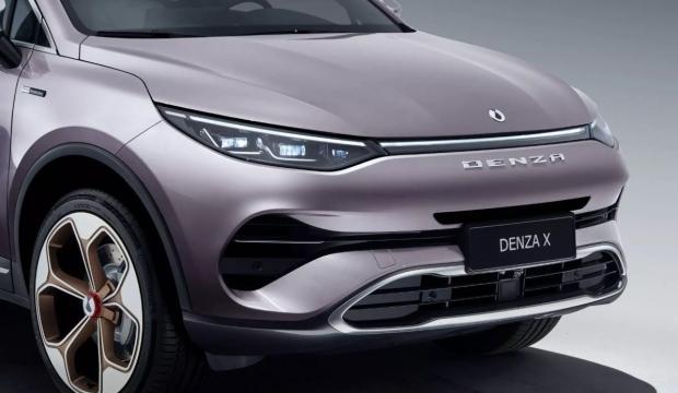 Mercedes Çinli marka için tasarladı!