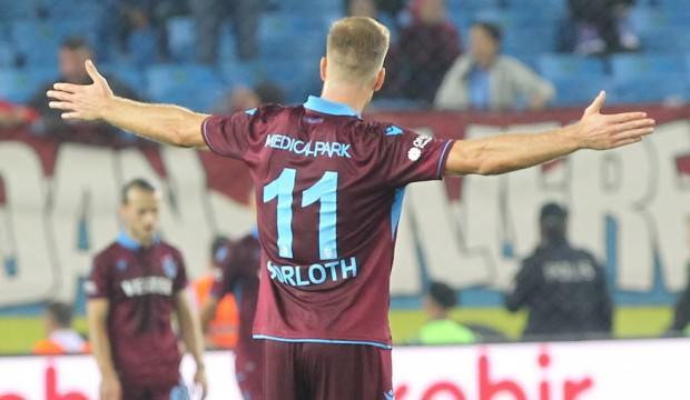 Sörloth, Trabzonspor'da kariyer rekorunu kırdı