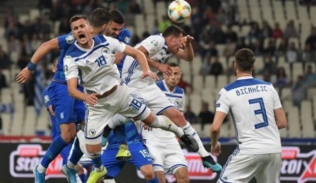 Bosna Hersek şansını zora soktu