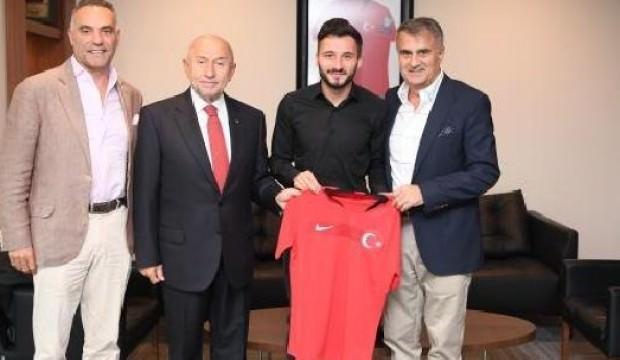 Enver Cenk Şahin'den Nihat Özdemir'e ziyaret