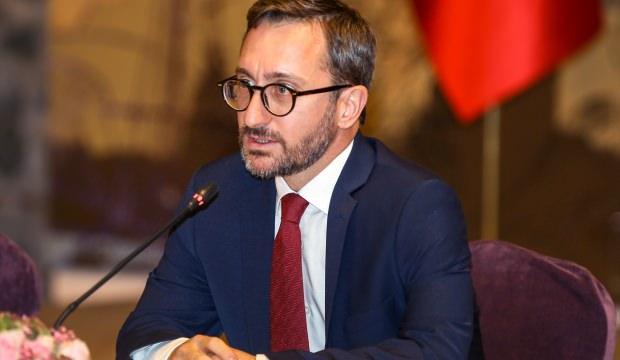 TRT World'e sansür uygulamışlardı!Fahrettin Altun'dan Twitter'a kınama