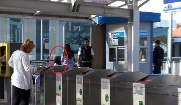 Genç kız çığlık attı, metrobüsteki şüpheli yakalandı