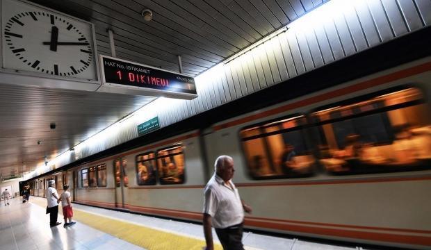 İstanbul'da metro hatlarında arıza