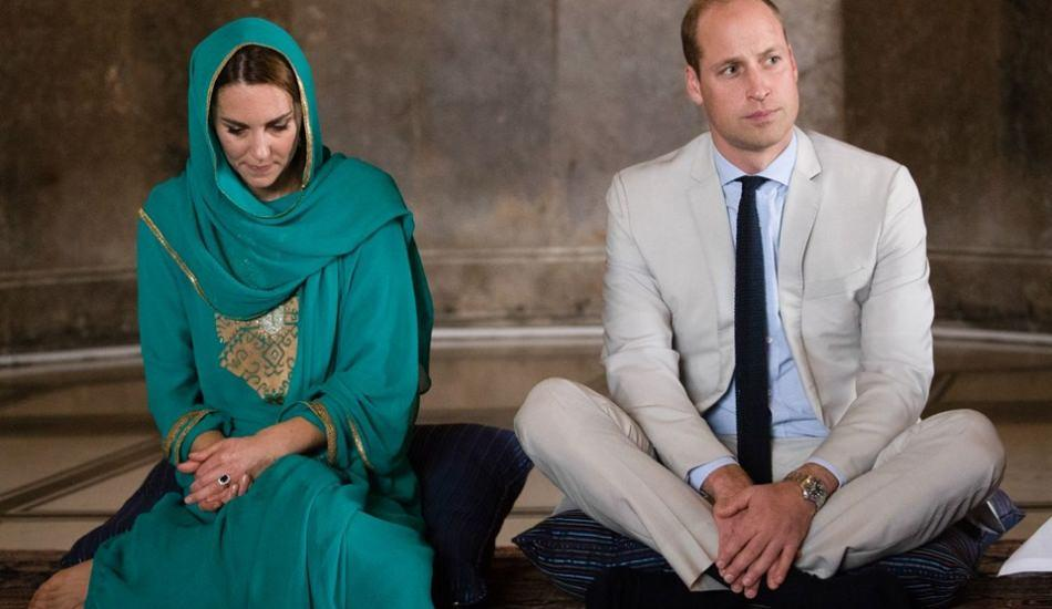 Kate Middleton ve Prens William'dan cami ziyareti!