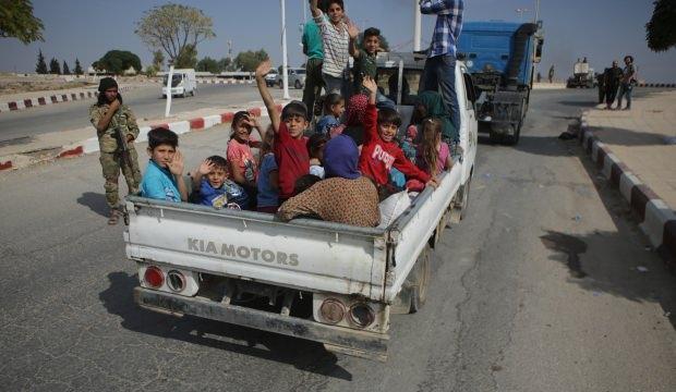 Suriyeliler Tel Abyad'a geri dönüyor!