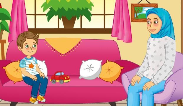 Meraklı Çocuk ile Annesi: Tabloyu boyayan kim?