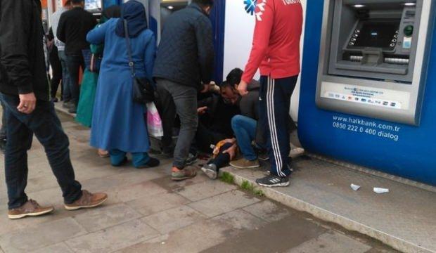 Korkunç! ATM sırasında silahlı saldırıya uğradı