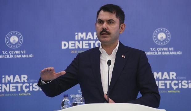 Bakan Murat Kurum: 2100 imar denetçisi 81 ilde göreve başlıyor